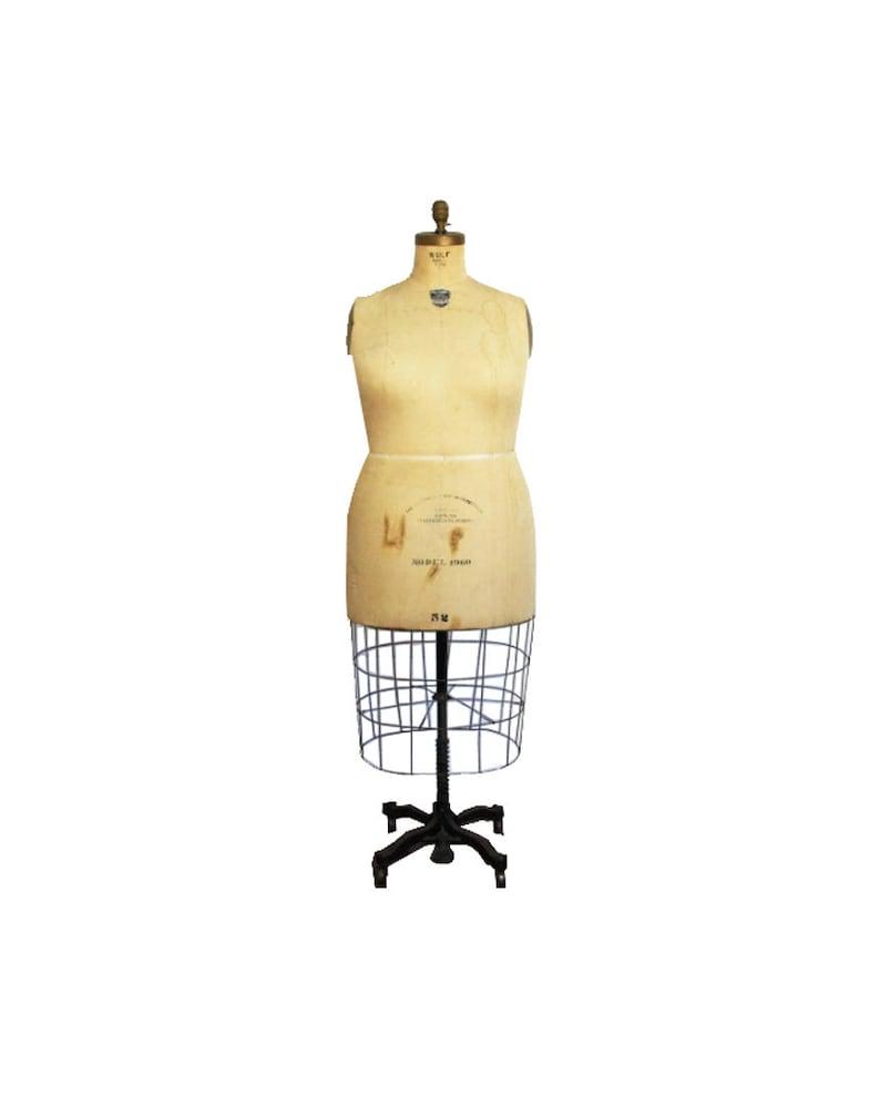 Wolf Dress Form Co. New York Vintage Ladies Plus Size Dress | Etsy