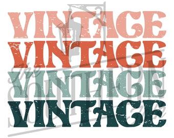 Vintage PNG File, Sublimation Design, Digital Download, Sublimation Designs Downloads