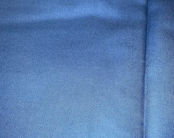 Royal Blue Cotton Fabric 60 Inches Wide