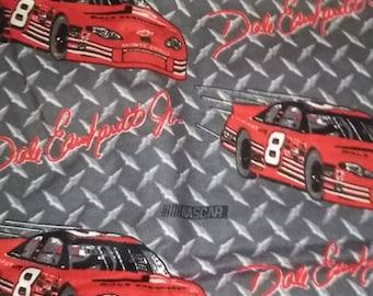 Dale Earnheardt Jr  #8 Flannel Fabric