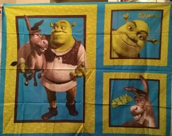 Shreck Quilt and Pillow Panels