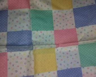 Vintage ABC Fabric By Spring Industries