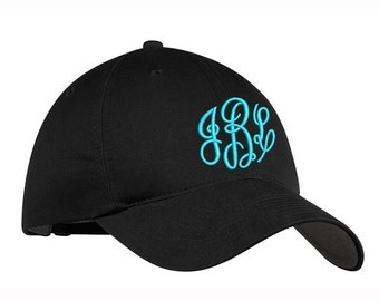 Monogrammed Nike Cotton Poly Classic Cap - NAVY effaff25287