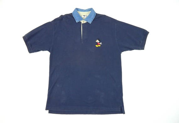 Vintage chemise Polo Mickey Mouse de Disney