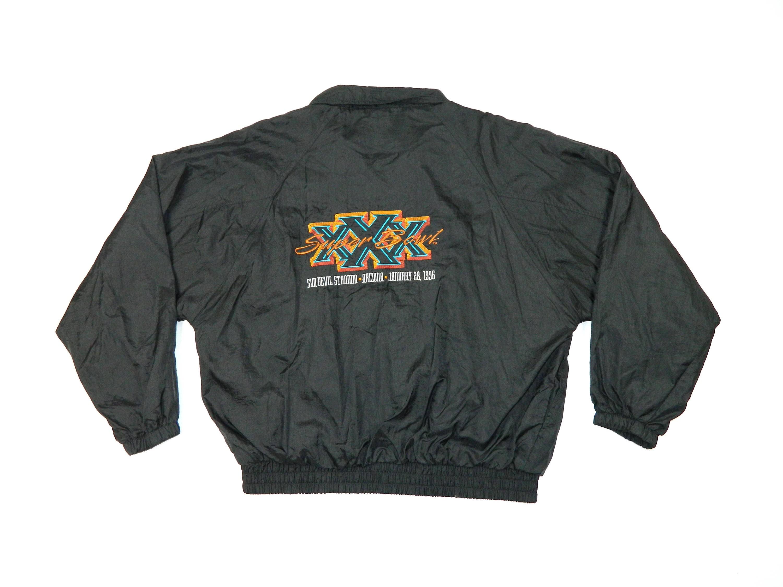 detailed look f8af0 7ef33 Vintage 1996 NFL Super Bowl XXX Windbreaker Jacket... Sz XL