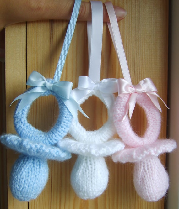 Knitting Pattern Bear Pram Charm