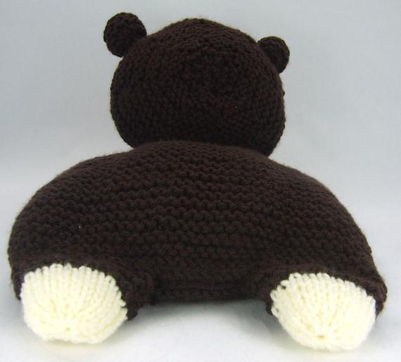 Knitting by Post Pattern Happy Bunny Pyjama Case KBP-031