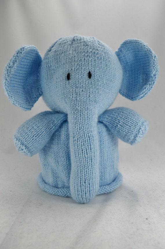 KNITTING PATTERN Elephant Toilet Roll Cover Knitting Pattern | Etsy