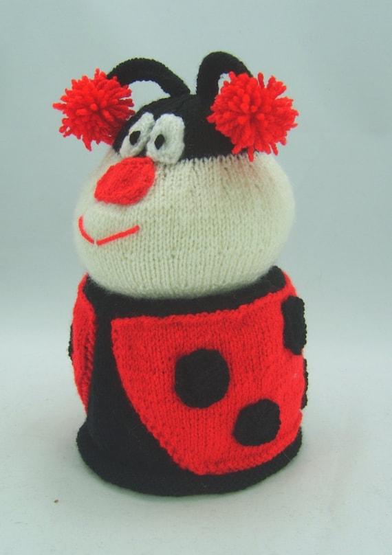 KNITTING PATTERN Ladybird Toilet Roll Cover Knitting Pattern | Etsy