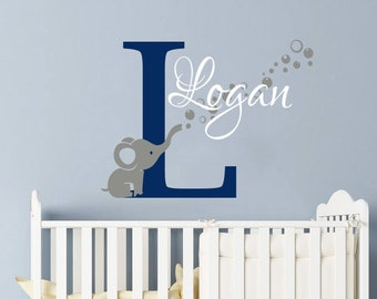 Boy Nursery Decals Etsy
