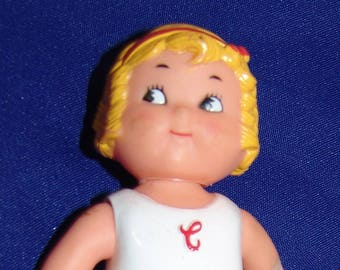 "Campbells Soup Plastic Doll Toy 5 3/4"" Advertising"
