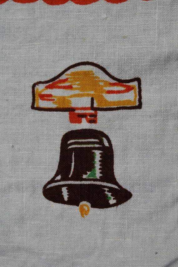 Vtg Table Linen Placemats Place Mats 7pcs Camping Fire South West Campfire Rustic Vintage Alamo Bell Southwest Mexican Cowboy Desert