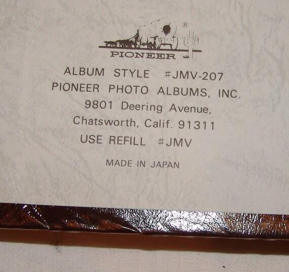 Pioneer Photo Album Static Large Style Jmv 207 17 X Etsy