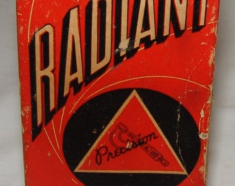 Radiant Precision Lamps Light Bulb 300W 120v T10 New Old Stock Vtg Projection Projector