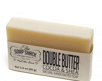 Shea Butter & Cocoa Butter Soap bar