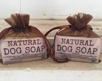 All Natural Handcrafted Dog Shampoo Bar Gentle Dog Soap Dog Grooming Dog Sensitive Skin