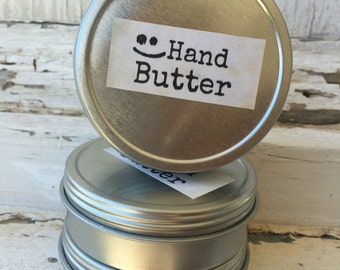 All Natural Hand Butter Moisturizing Balm Hand Lotion with Organic Raw Beeswax Orange Blossom Anise Homesteader, Earths Answers