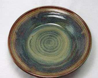 fruit bowl, serving bowl, handmade stoneware pottery bowl