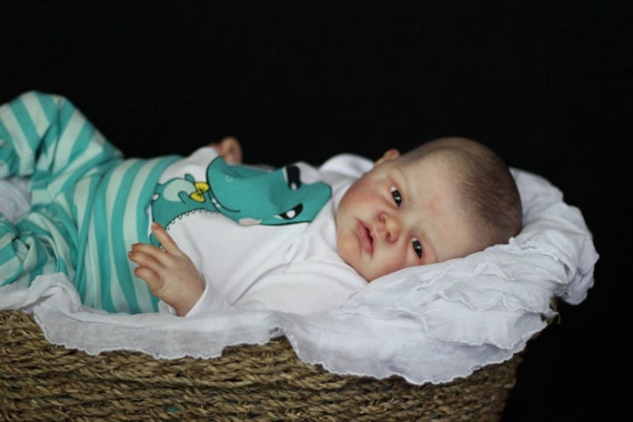 "Limited 17/"" blank vinyl reborn baby doll KIT preemie /""Lilliana/"" by Emily Jameson"