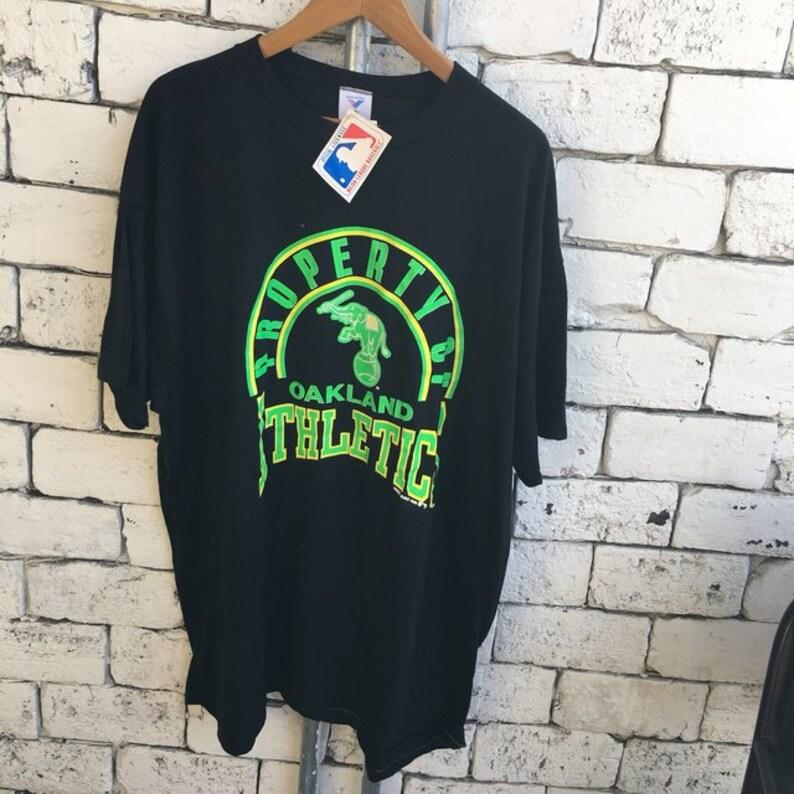 c5a7c8351a6bf Vintage 80s OAKLAND Athletics T -Shirt