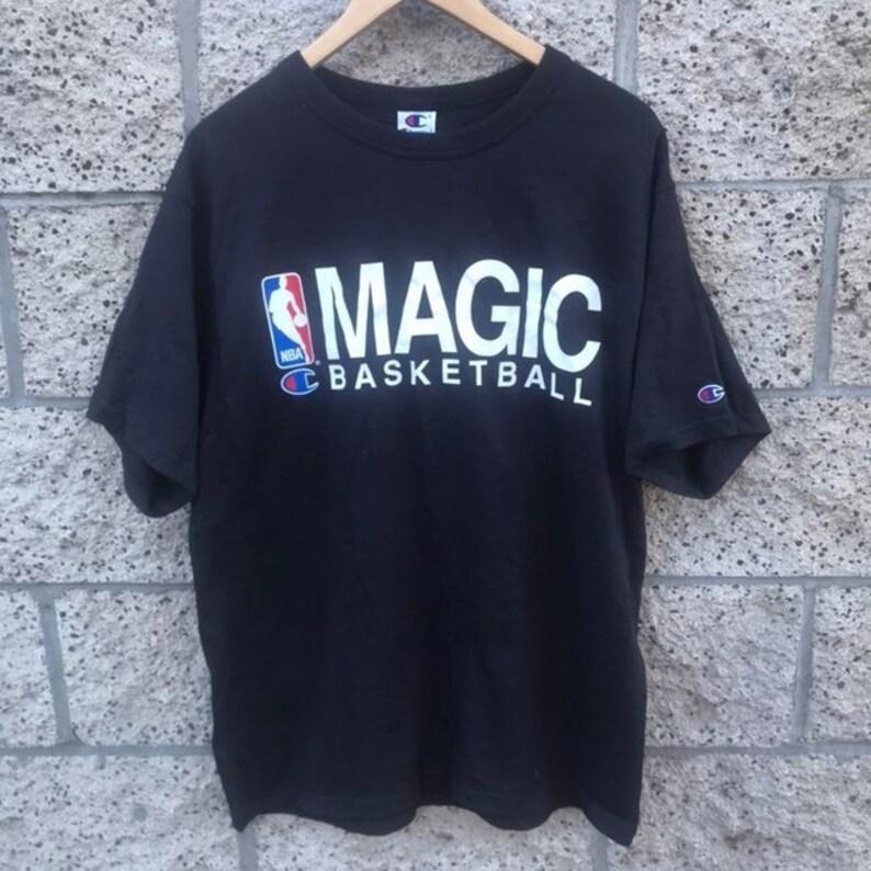 73aad8569 Vintage Champion NBA Orlando Magic T-Shirt NEW NWT