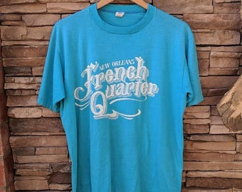 Vintage New Orleans French Quarter t-shirt