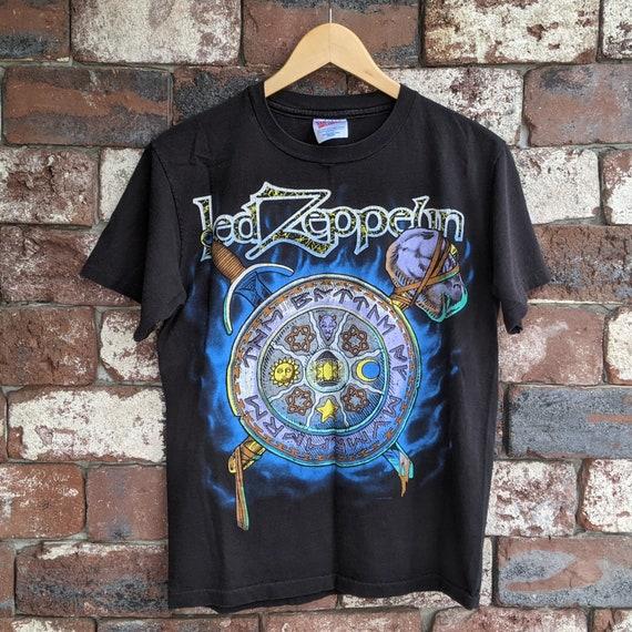 Vintage Led Zeppelin shield t-shirt