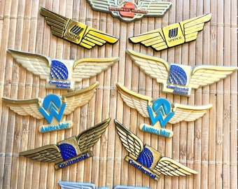 Airline wings | Etsy