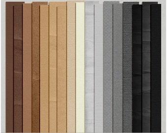 Cardstock Solids Set 1 - Digital Scrapbooking Papers