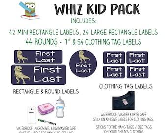 Kids Hard Surface Labels
