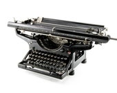 Underwood Mill typewriter...