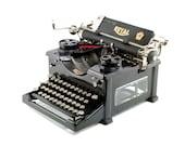 Antique typewriter, Royal...