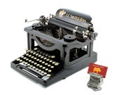 Antique typewriter, L. C....