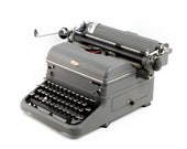 Vintage typewriter, Royal...
