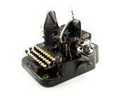 Antique Typewriter, Olive...