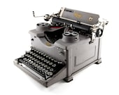 Antique typewriter, Royal...