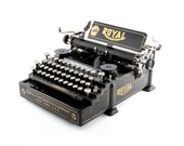 Antique Typewriter, Rare ...
