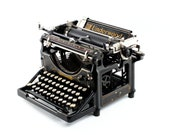 Antique Typewriter, Under...
