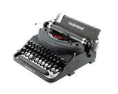 Working typewriter, Under...
