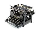 Antique Typewriter, Under...
