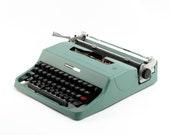Restored Typewriter, Oliv...