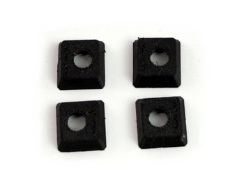 Royal portable typewriter replacement feet. 4 new feet for Royal Quiet De Luxe, Aristocrat, etc.