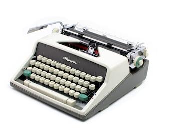 Vintage typewriter, Olympia SM7, restored