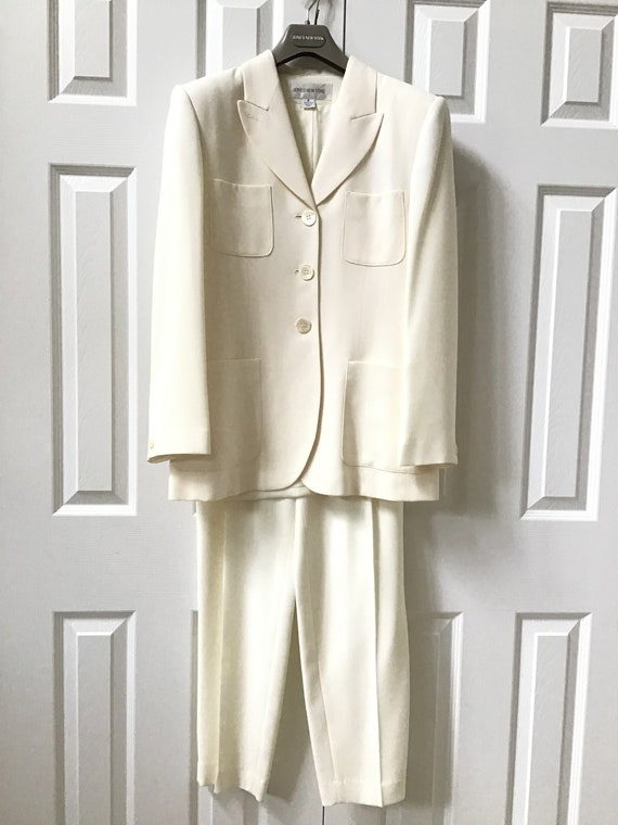 Vintage 1990's JONES NEW YORK Women's Pant Suit Cr