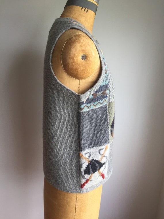 Vintage 80's Ralph Lauren Wool Vest - image 2