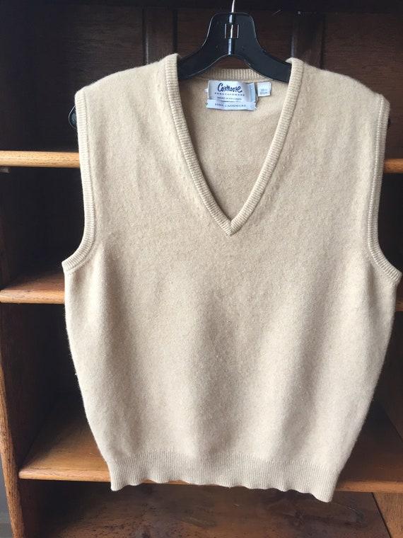 Vintage  Men's Cashmere Vest