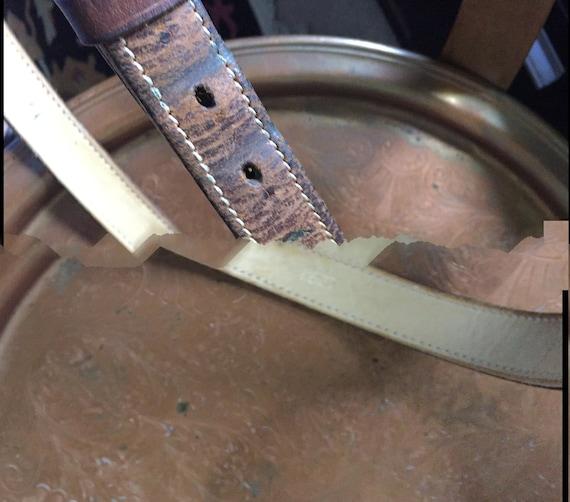 Ralph Lauren Leather Belt '80s - image 6