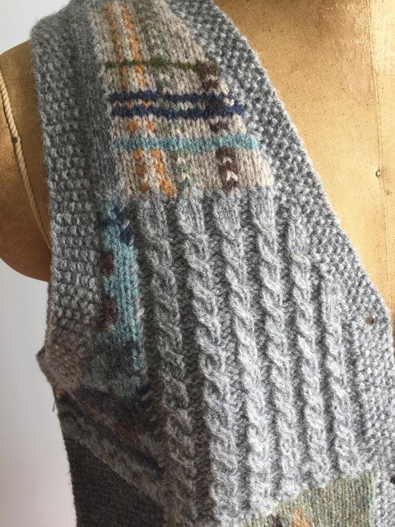 Vintage 80's Ralph Lauren Wool Vest - image 8