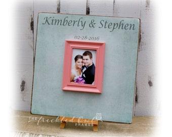 Large Wedding Guest Book Alternative Wedding Signature Frame Etsy