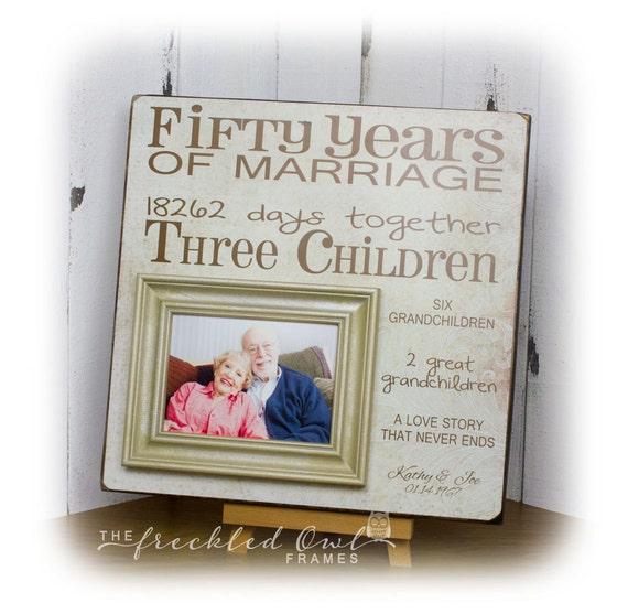 50 ans de mariage 50e anniversaire cadeau anniversaire etsy. Black Bedroom Furniture Sets. Home Design Ideas